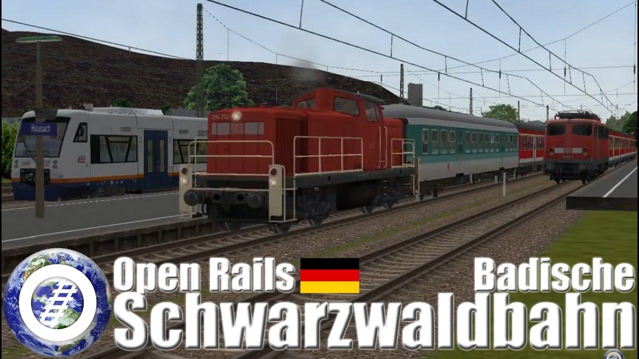 Open Rails (MSTS) Germany - Badische Schwarzwaldbahn