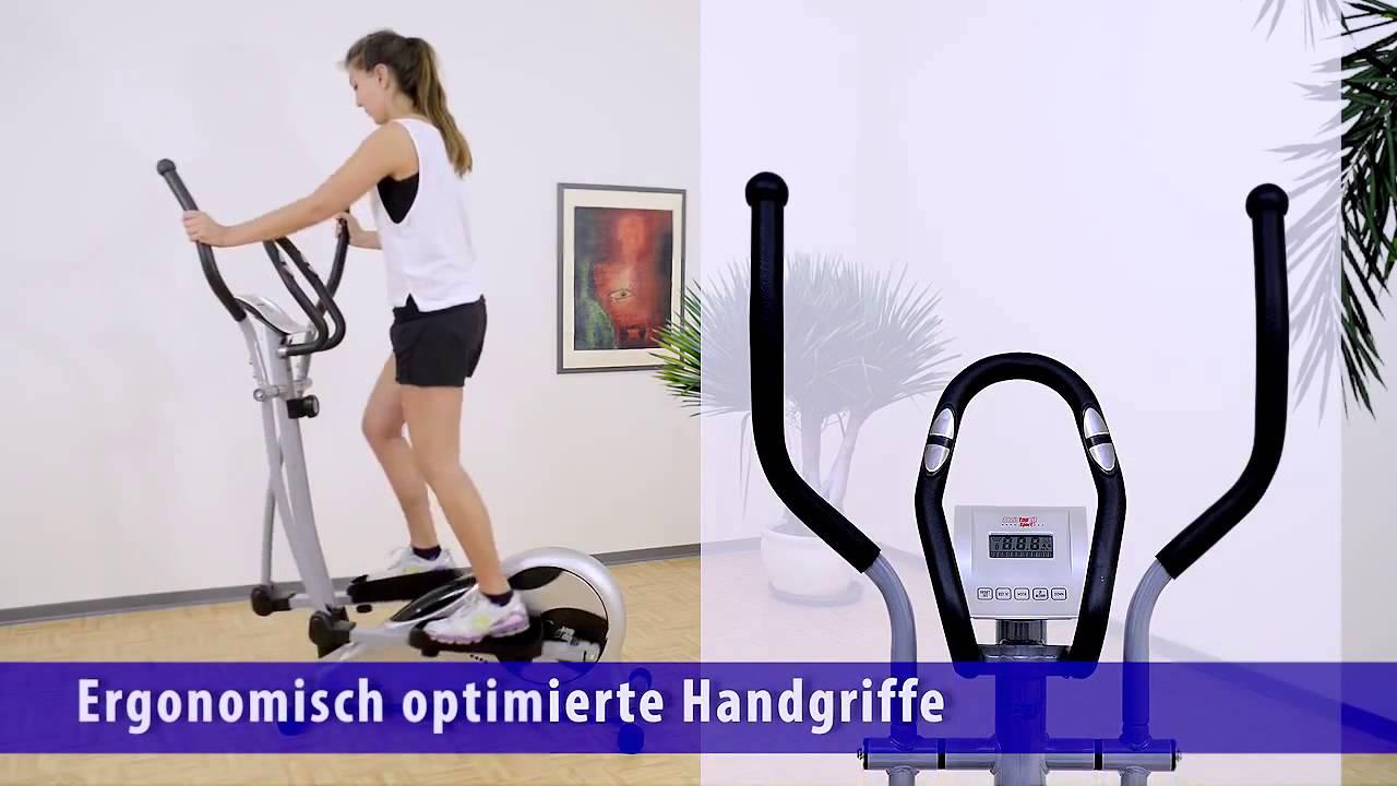 christopeit sport crosstrainer cs5 billig crosstrainer youtube. Black Bedroom Furniture Sets. Home Design Ideas