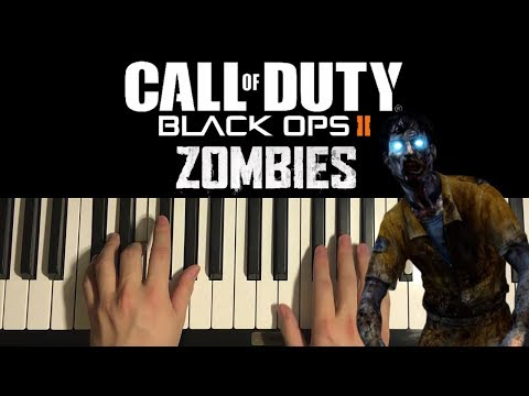 How To Play - Black Ops 2 Zombies - Theme Song (PIANO TUTORIAL LESSON)