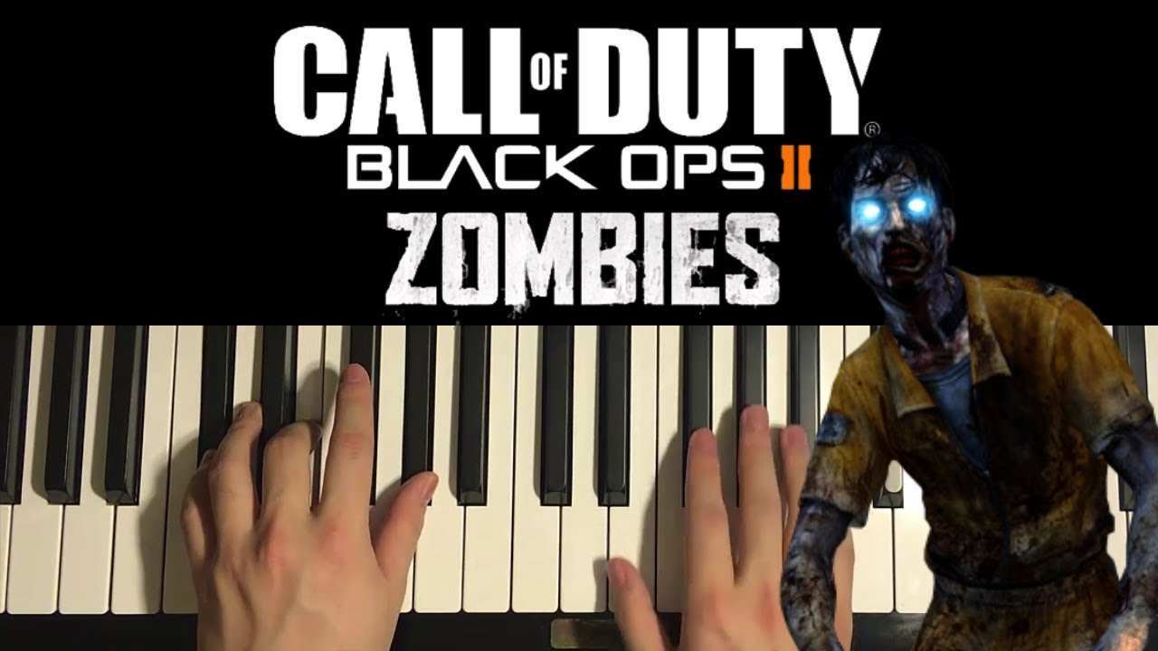 How To Play Black Ops 2 Zombies Theme Song Piano Tutorial