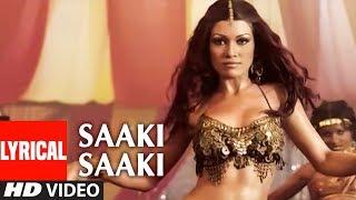 Saaki Saaki Lyrical Video Song | Musafir | Sukhwinder Singh, Sunidhi Chauhan | Sanjay Dutt
