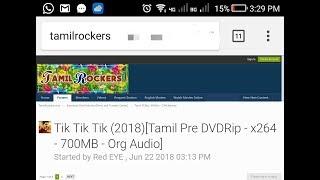 Tamilrockers official website
