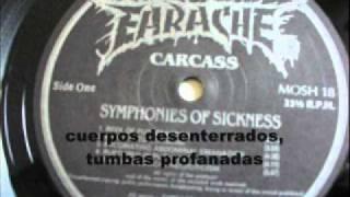 Carcass - Exhume to consume (Subtitulado en español)
