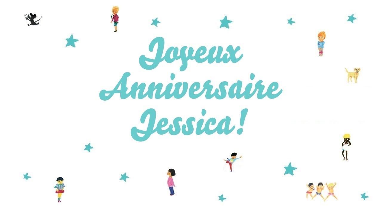 bon anniversaire jessica