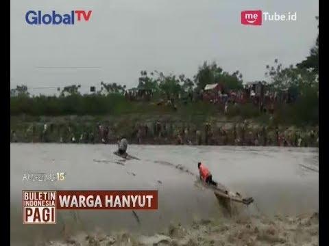 Video Amatir Detik-detik 2 Orang Warga Hanyut Dalam Festival Bedolan Pamarayan di Banten - BIP 13/10