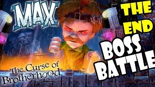 lets play max curse of brotherhood final boss battle the end superevilheromustachofelixbrine