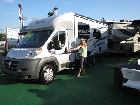 Cool Walk Through 2015 Roadtrek Zion RAM Promaster RV Conversion Camper Van | FunnyDog.TV