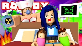 THE CRAZY EVIL NURSE TRIES TO KILL ME IN ROBLOX HOSPITAL! (Roblox Roleplay)