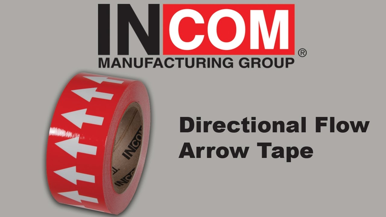 Directional flow arrow tape youtube nvjuhfo Gallery