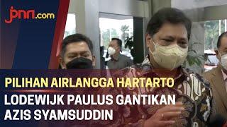 Sah! Lodewijk Paulus jadi Pengganti Azis Syamsuddin - JPNN.com