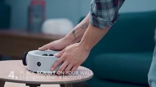 How to install Scribit - June 5th, 2018, Live on Kickstarter! thumbnail