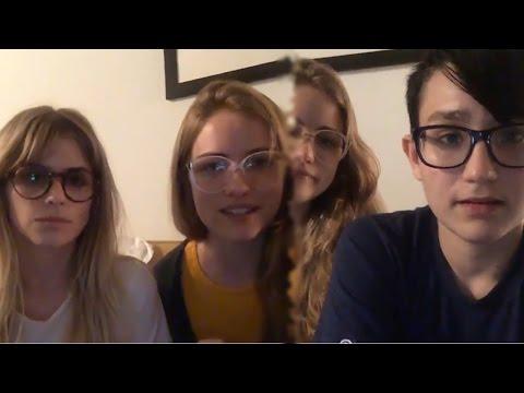Bex Taylor-Klaus | Facebook Live with Carlson, Willa, Santiago & Amadeus