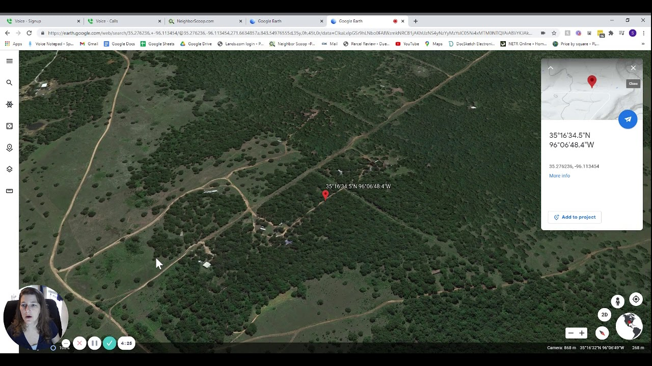 5 acres Raw Vacant Land for Sale in Dustin, OK