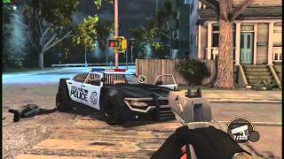 Saints Row The Third - First Person Shooter Mod (How To Install) - In Car Too! - Gameplay