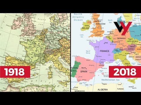 How The World Map Has Changed In 100 Years (Since WWI)