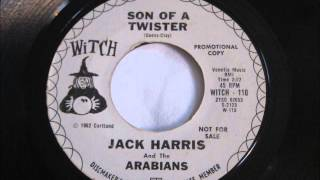 Jack Harris & The Arabians - 45 rpm Record - Son Of A Twister Video