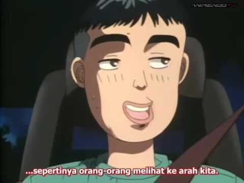 Initial D 1st stage Sub Indo - Episode 22