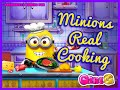 Minions Real Cooking- Fun Online Food Games for Girls Kids