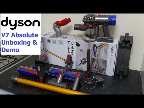 Dyson V7 Absolute Cordless Vacuum Demonstration