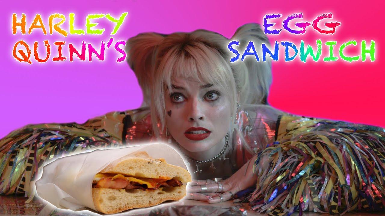 Outlandishes Harley Quinn S Egg Sandwich Youtube