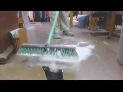 Video 4 Astonishingly quick and easy clean up of used motor oil, transmission fluid, and antifreeze