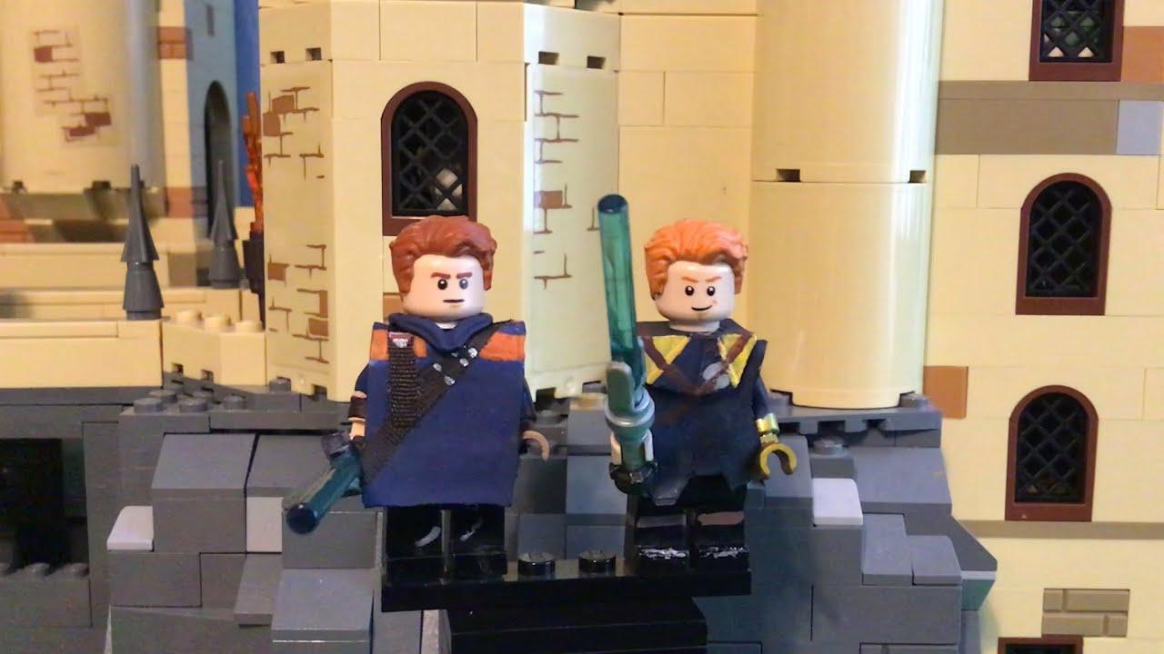 Custom BD1 Star Wars minifigures fallen order cal kestis on lego bricks