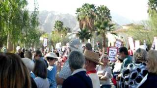 Rally In Rancho Mirage ~ Stage Announcements 1-30-11