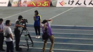 J3 大分トリニータ 対 セレッソ大阪U-23 Jリーグ女子マネージャー、佐藤...