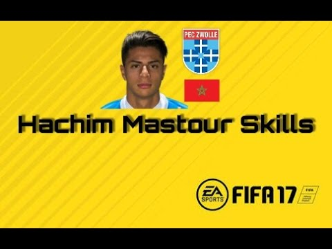 Hachim Mastour Skills Fifa 17 Career Mode Youtube