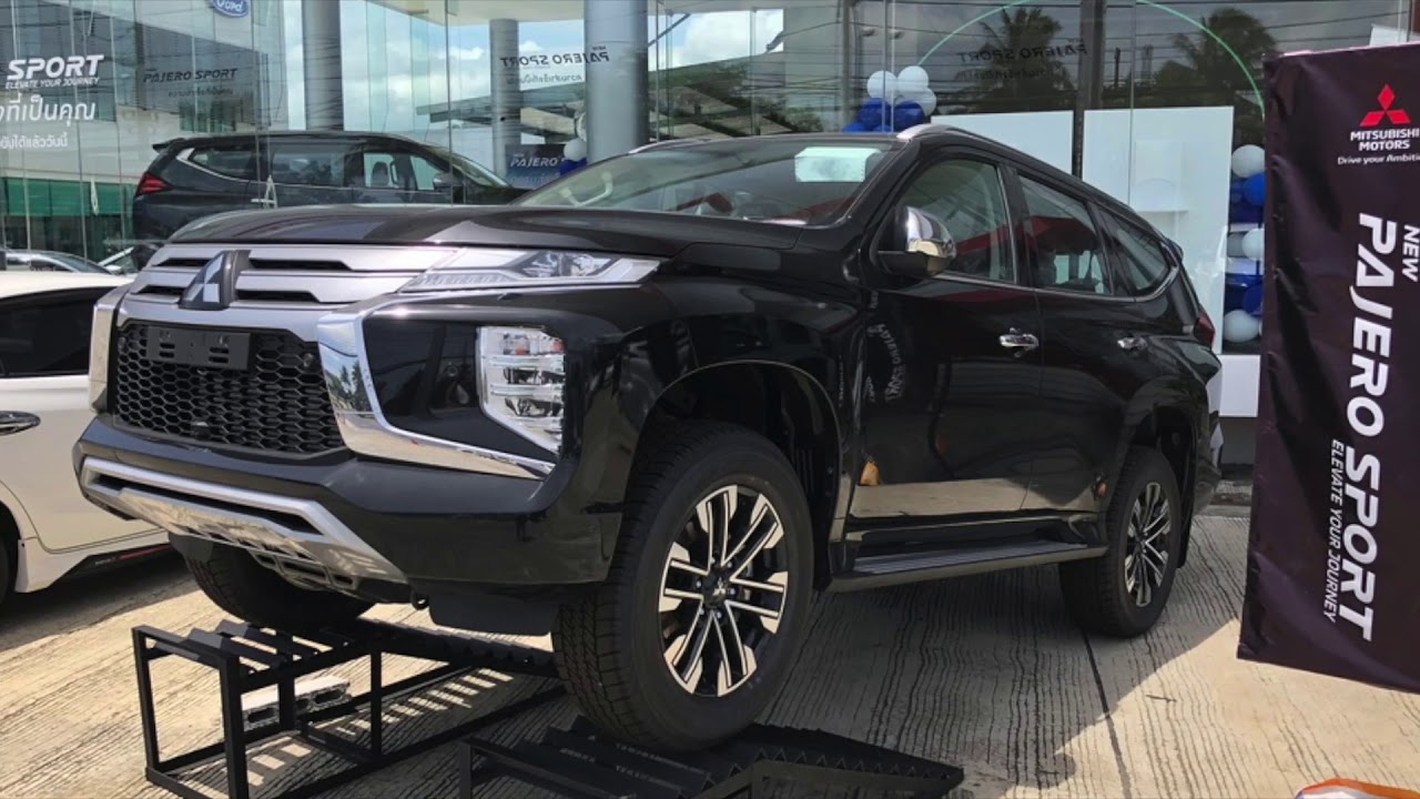 New SUV Pajero Sport 2019, 2020