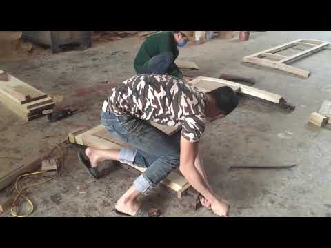 Amazing Woodworking Project - How To Build Modern Platform Bed Extremely Large, DIY, Wood Work