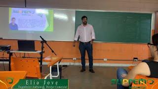 Palestra do Diretor da SUPREMO Ambiental Elio Jove na Faculdade Araguaia