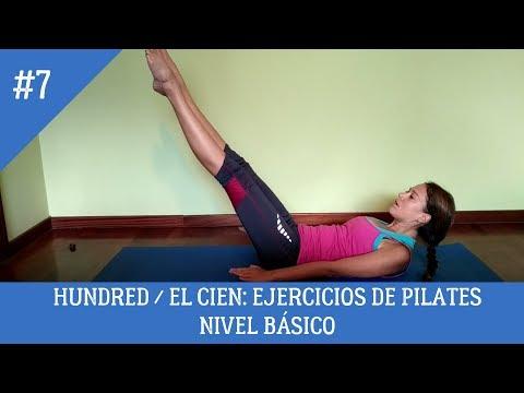 Hundred / El Cien: Ejercicios de Pilates. Nivel básico