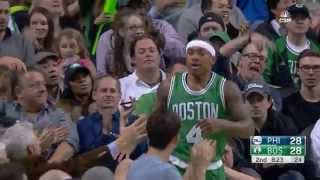 Isaiah Thomas Highlights vs Philadelphia 76ers (27 points, 7 assists)