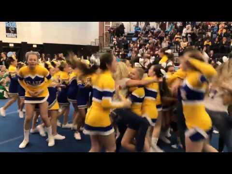 Watch as St. Clare's celebrates CYO Varsity Cheerleading title