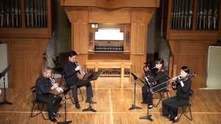 Pyotr Ilyich Tchaikovsky Andante cantabile SEYANA Brass ensemble 岡...