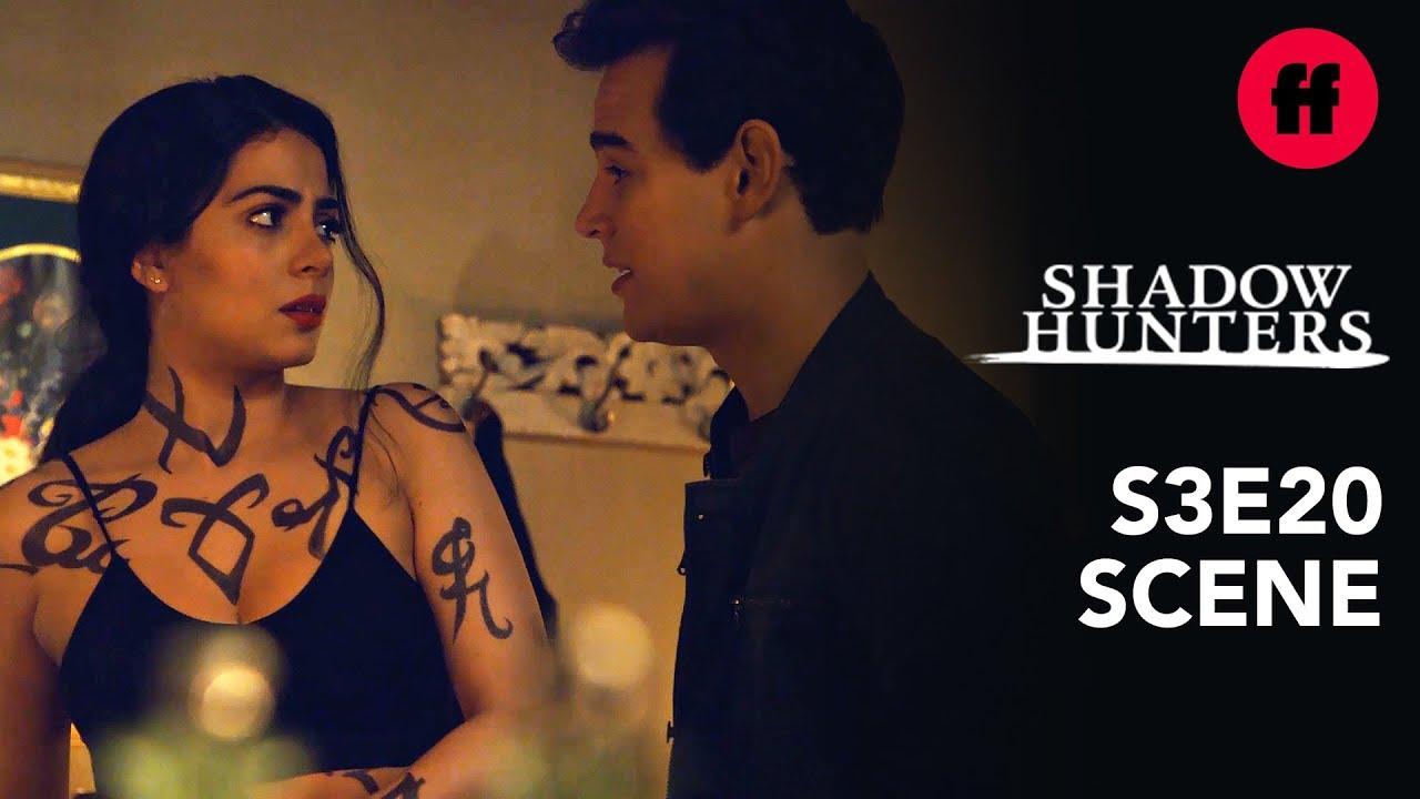 Shadowhunters Season 3, Episode 20 | Simon Thanks Izzy For Saving His Life  | Freeform