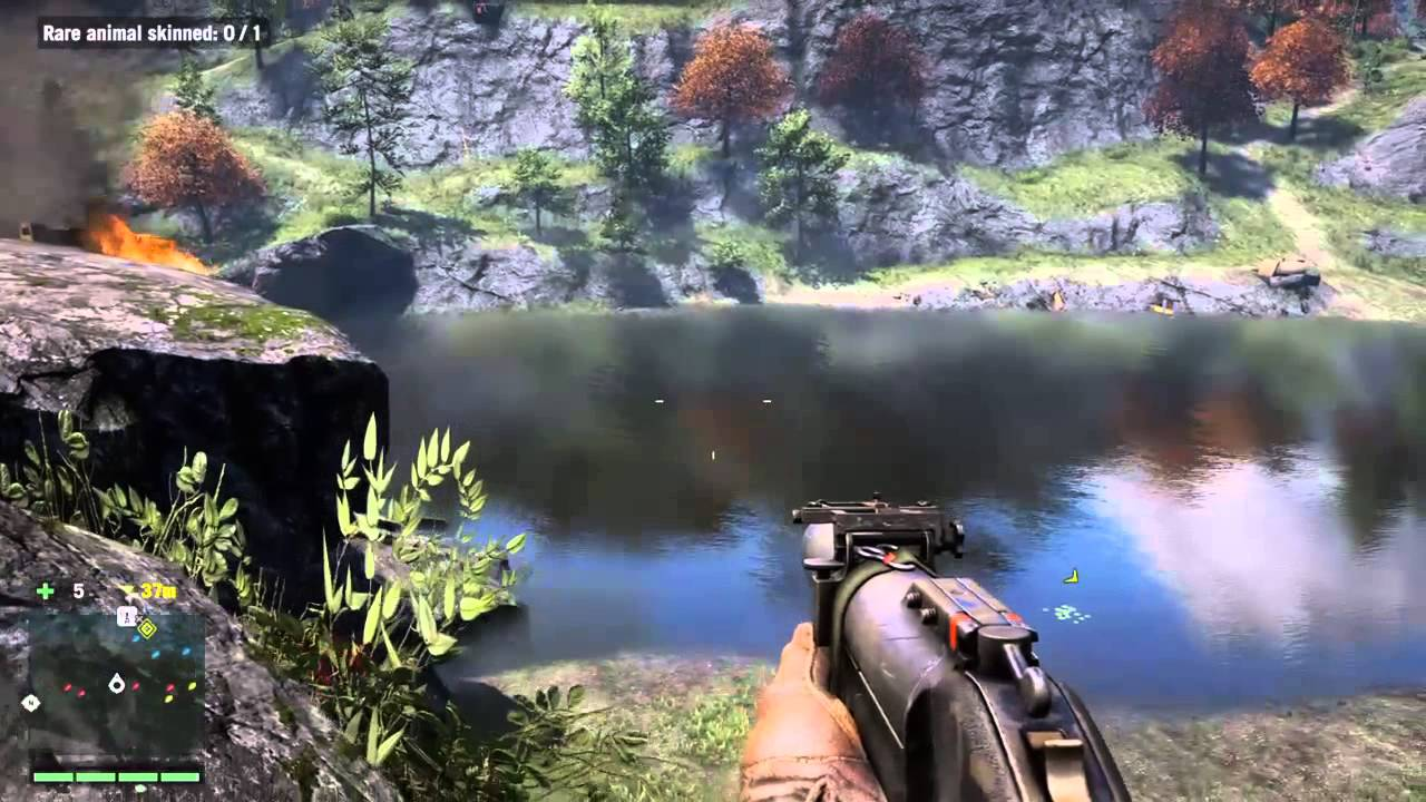 Blackwater dragon fish hunt far cry 4 720p ps4 youtube for Ps4 hunting and fishing games
