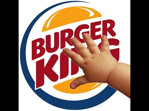 Burger King Baby Hands