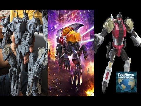 Hascon 2017|Transformers Brand Interview & Booth Tour|Dinobots, Volcanicus, Predaking, Botcon & More