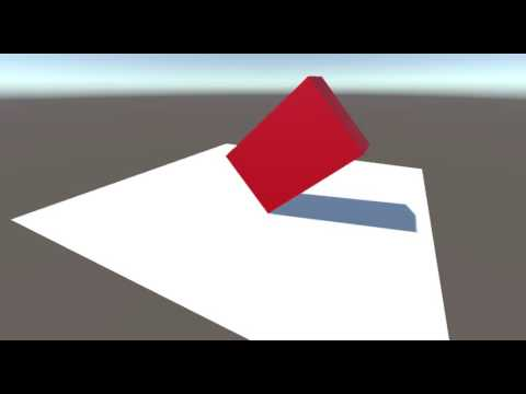 [Unity] Roll a rectangular parallelepiped