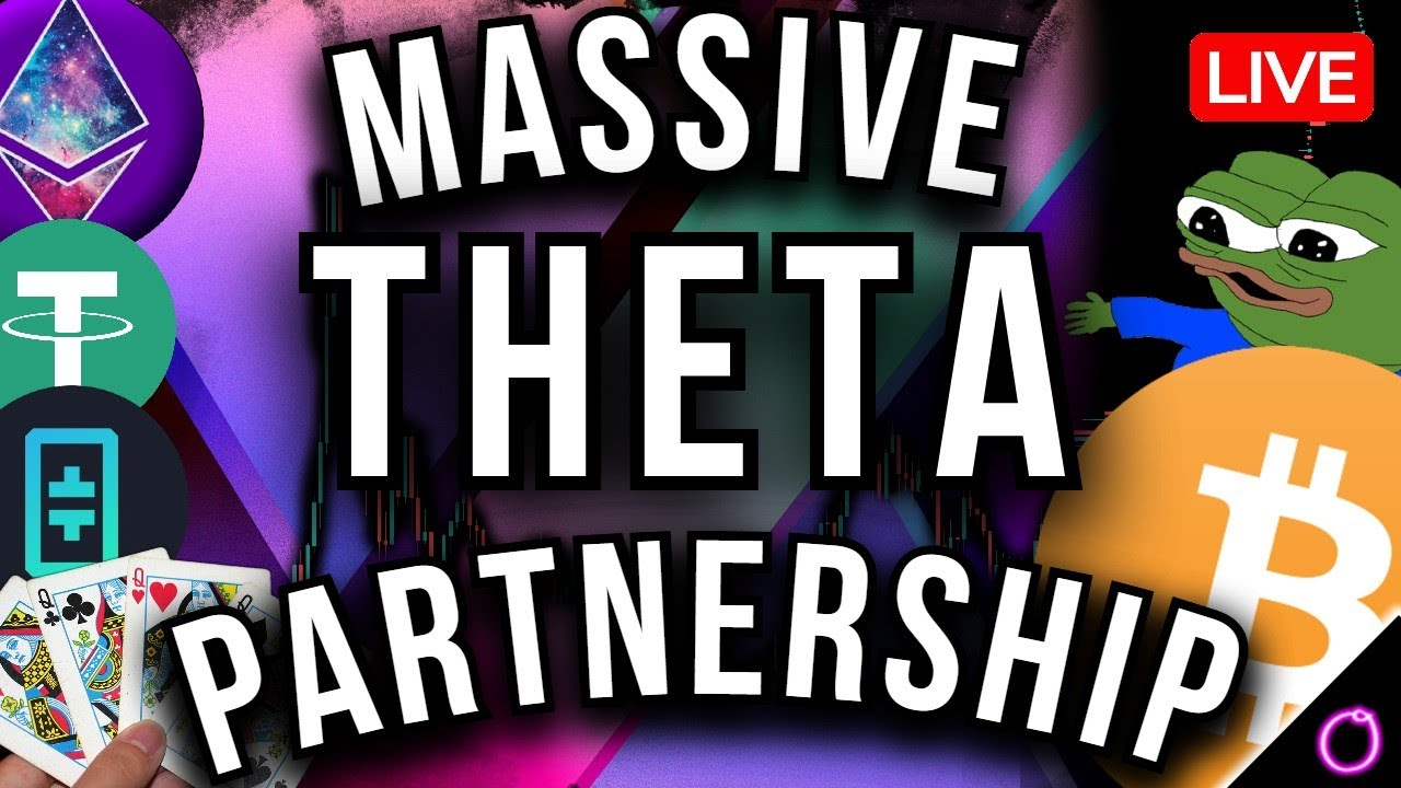 Must watch to see this INSANE Theta partnership (crypto news and charts)