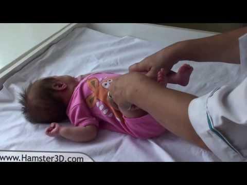 Гимнастика для детей - Развитие тазобедренных суставов