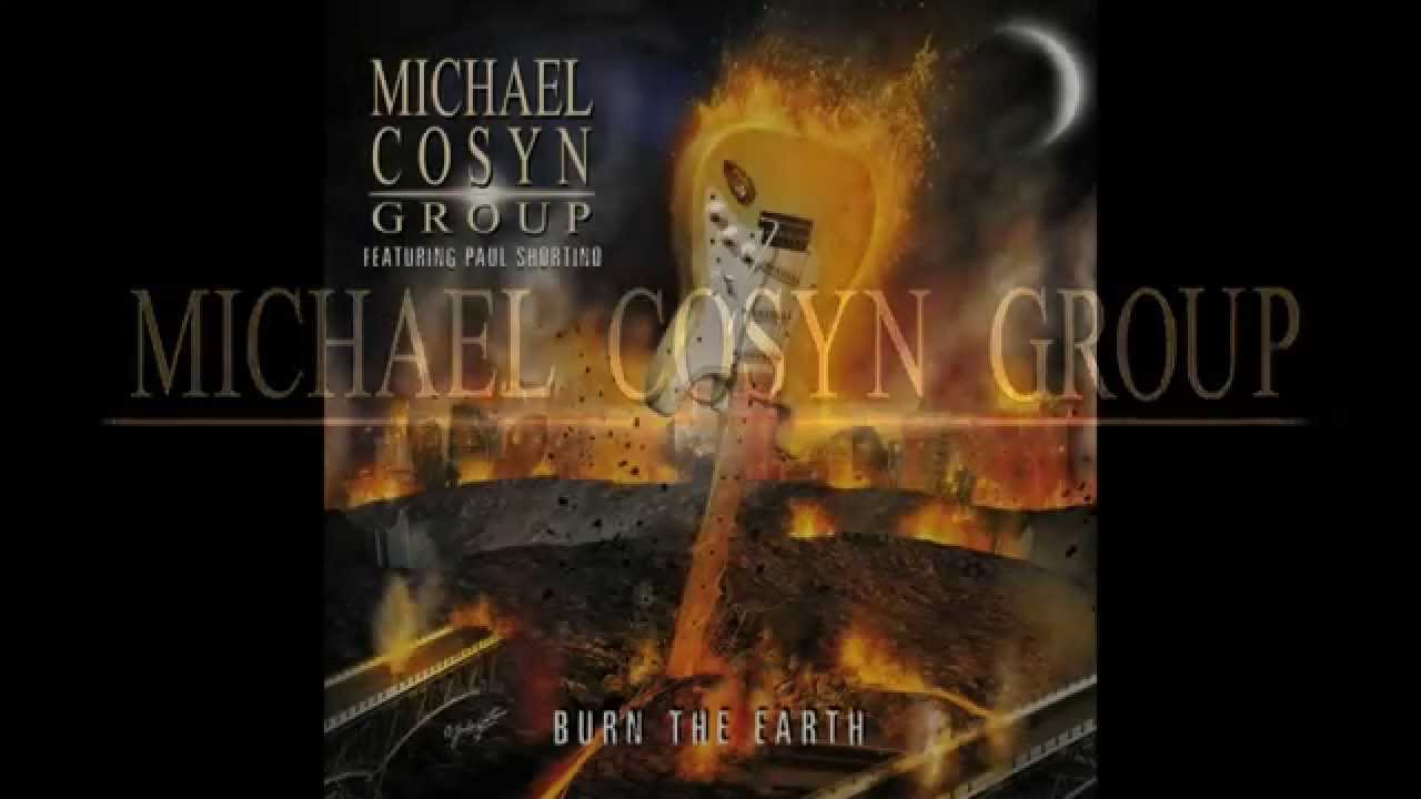 """Promotional video of the first track from the Michael Cosyn Group album """"Burn the Earth"""" with special guest Paul Shortino (Rough Cutt, Quiet Riot) on vocals...."""