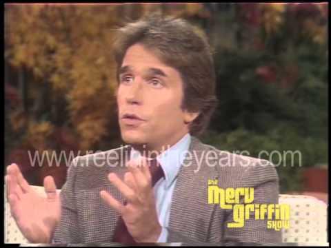 Henry Winkler  Merv Griffin  1977