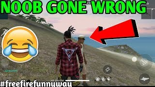 Free Fire Noob Gone wrong???????????????? Free fire funny way |HINDI| JORAWAR GAMING
