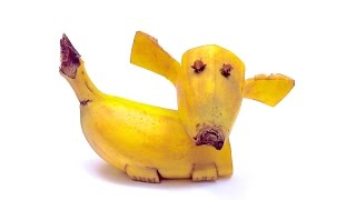 Diy: How To Make A Banana Dog (hd)