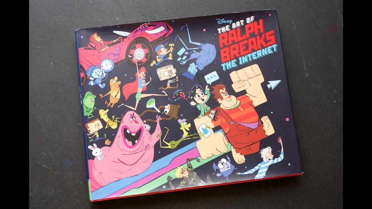 Book Review The Art Of Ralph Breaks The Internet Wreck It Ralph 2 Parka Blogs