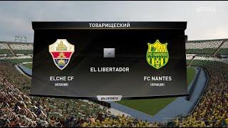 Футбол Elche CF Испания FC Nantes Франция Виртуальный Кубок Random CUP 1 8 финала FIFA