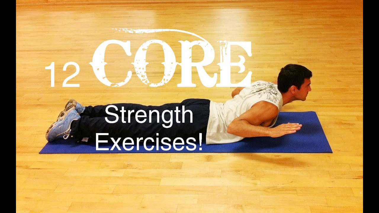 12 Easy Core Strength Exercises To Do At Home